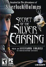 Secret Of The Silver Earring - Sherlock Holmes - 2004 - Two Discs - Rated T - $9.99