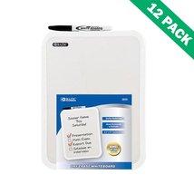 Dry-erase Board, Rectangular Wall Mounted 8.5x11 White Erase Board Set O... - $52.89