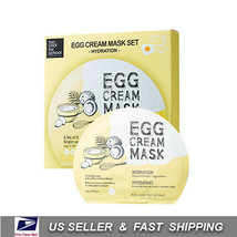 [ Too Cool for School ] Egg Cream Mask Hydration SET (5 Sheets) - $23.76