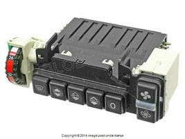 Mercedes w123 Climate Control Unit With Push Button Assembly (Rebuilt) P... - $272.50