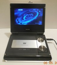 """Philips PET724 7"""" White Portable DVD Player Car Widescreen Movies Media - $52.60"""