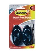 3m Command Strips 17086S Medium Slate Outdoor Terrace Hooks 2 Count - $10.39