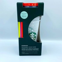 New LE 2021 Summer Starbucks Confetti Color Changing Reusable Cold Cups - $50.34