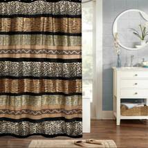 """Popular Bath Gazelle Animal Print Bathroom Shower Curtain 70""""x72"""" - $34.19"""