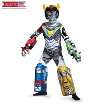 Voltron Deluxe Costume, Multicolor, Medium (7-8) - $42.54