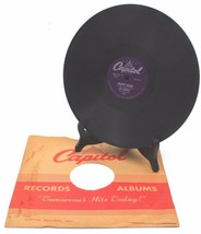 Big Band Swing Ray Anthony Trumpet Boogie 78 RPM RECORD Capitol 1952 - $35.99