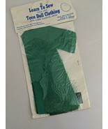 Vintage Jolie Jon's Precuts Learn To Sew Teen Doll Clothing Barbie Babet... - $24.70