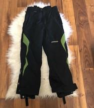 Spyder XT Boys Girls Youth Black Insulated Snow Pants Ski Snowboard XT S... - $37.23