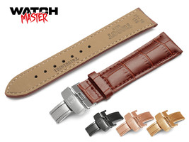 For TISSOT Brown Leather Strap Band  watch 18mm 19mm 20mm 21mm 22mm clas... - $12.90