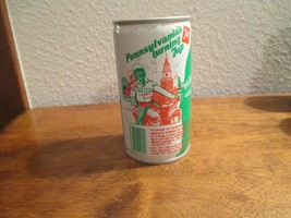 Pennsylvania PA Turning 7up vintage pop soda metal can  indedependence s... - $10.99
