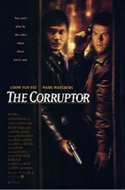 """1999 THE CORRUPTOR Movie POSTER 27x40"""" Motion Picture Promo  Mark Walberg - $15.99"""