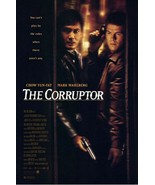 """1999 THE CORRUPTOR Movie POSTER 27x40"""" Motion Picture Promo  Mark Walberg - $19.99"""