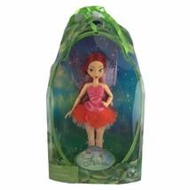 "2013 Disney Store Exclusive Tinkerbell Fairies Rosetta Fairy Doll Red Hair 12"" - $37.04"