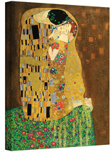 ArtWall The Kiss Gallery Wrapped Canvas Art, 24 by 32-Inch - $81.92