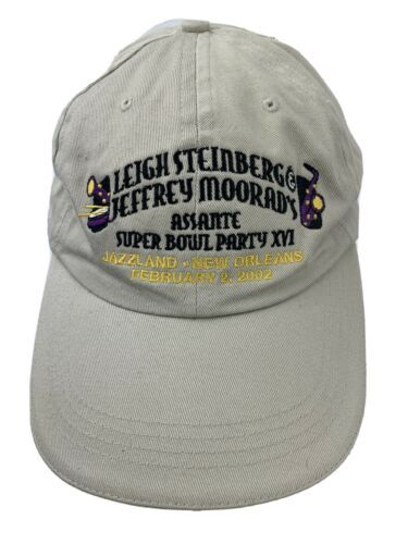 Primary image for Leigh Steinberg Jeffrey Moorad's Super Bowl Party 2002 Adjustable Adult Cap Hat