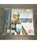 World Cup 98 (Sony PlayStation 1, 1998) PS1 Complete, Tested Works Free Shipping - $9.85