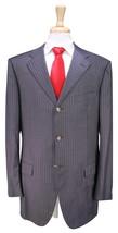 * LANVIN * by Caruso Gray w/ Pink Pinstripe 3-Btn Luxury Wool Suit 44L - $175.00
