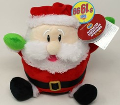 Kids of America Santa Claus is Comin to Town Animated Christmas Spinner ... - $16.82