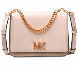 Michael Kors Mott Large Chain Swag Shoulder Bag, Soft Pink/Fawn MSRP: $298 - $139.00