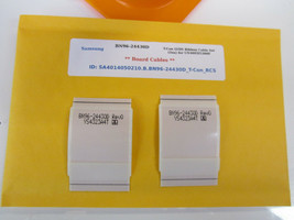 Samsung BN96-24430D T-Con LVDS Ribbon Cable Set (2ea) for UN40EH5300F [S... - $14.00