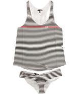 Hurley I Heart You Cami Set Tank Panty Set Size Large Brand New - $17.10