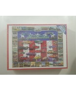 White Mountain American Auto History 1000 Piece Jigsaw Puzzle NEW SEALED - $51.43