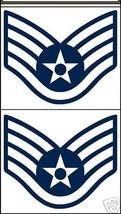 USAF AIR FORCE STAFF SERGEANT CAR WINDOW DECAL - $13.53