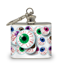 Floating Eyes 2 oz Key Chain Flask - $8.56