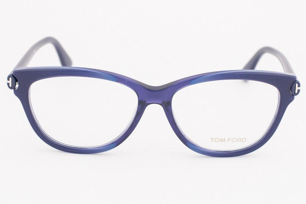 Tom Ford 5287 092 Blue Eyeglasses TF5287 092 55mm image 2