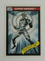 Marvel Universe 1990 Series 1 35 Havok Trading Card X-Men - $1.97