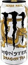 Monster Dragon Tea (Yerba Mate, 6 Cans) - $24.74