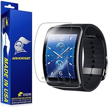 ArmorSuit Samsung Gear S Screen Protector 2 Pack Full Coverage MilitaryS... - $7.89