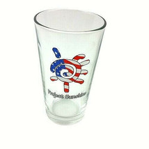 Project Sunshine Red White Blue 16 oz Pint Glass Libbey  - $23.99