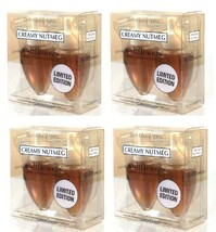 Bath & Body Works Wallflower Lot of 4 Twin Packs - Creamy Nutmeg - 8 Bul... - $83.00