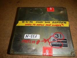 ^^90-91-92 Nissan 300Z 3.0-L Ecm # A18A29M70 * Need To Match Part Number (N-551) - $148.01