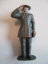Marx Toys Hard Plastic Civil War General Soldier 2 1/2' Tall Taiwan - $8.90