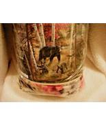 Royal Plush Raschel Throw - Bears & Birch Trees !  Free Priority Ship ! - $30.68