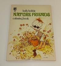 Holly Hobbie Nature Friends Easy Color Elf Book 1976 Rand McNally USA 1976 - $16.54