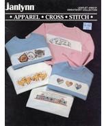 Sweatshirt Collection Sweats Kitten Bunny Heart Chick Cross Stitch Pattern - $2.22