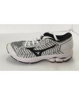 Mizuno WaveKnit R2 Running Shoes Size 11.5 MEN'S White/Black/Grey - $78.20