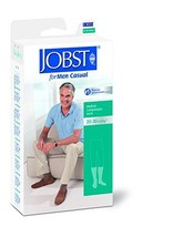 BSN Medical 113155 JOBST Men's Casual Socks with Closed Toe, Knee High, 20-30 mm - $65.92