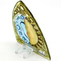 Fused Art Glass Sun & Moon Design Night Light Handmade in Ecuador image 4