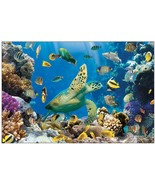 Realistic Undersea Backdrop  3 Pieces (9FT x 6FT) - $18.04