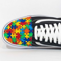 Vans Low top Custom 'Autism Awareness'  Available in all sizes for Men, ... - $175.00