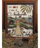 I Am A Needlesmith cross stitch chart By The Bay Needleart  - $10.80