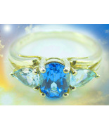 HAUNTED MAGNIFICENT ROYAL RING 90000 ROYALS SACRED BLESSINGS EXTREME MAGICK  - $377.77
