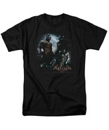 Batman Arkham Knight Face Off T Shirt Licensed Comic Book Tee Black - $17.99+