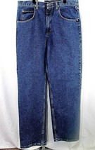 Wranglers Hero Silver Edition 5 Pocket Jean Blue Relaxed Fit 34x32 Strai... - $39.99