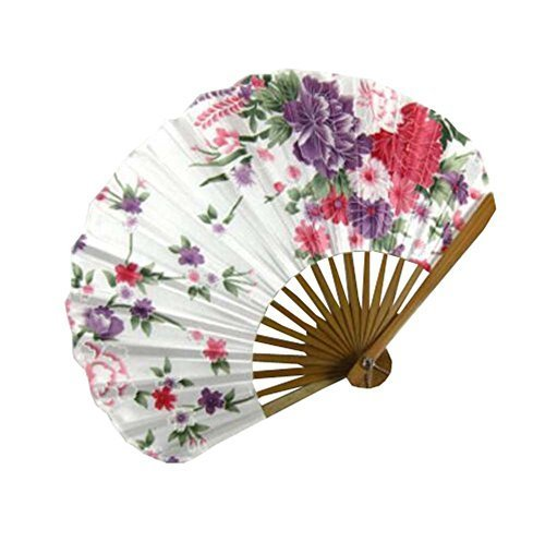 "Primary image for DRAGON SONIC 8.66""(22cm) Hand Held Folding Fans - Chinese/Japanese Vintage Retro"