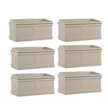 MRT SUPPLY 99 Gallon Deck Patio Box and Bench with Seating Capacity for ... - $1,645.01